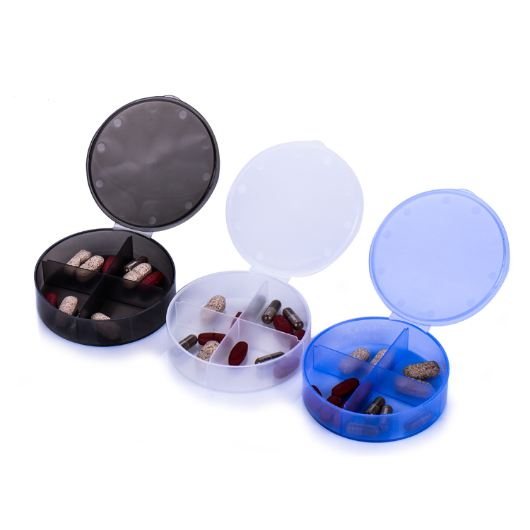 Gensyu Wholesale Custom Weekly Smart Plastic Pill Box 7 Days for Capsule Or Pill